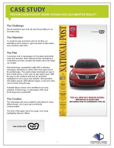 Case-Study-Nissan - Uses Augmented Reality with Print_Page_1