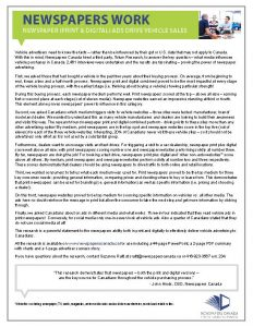 Newspaper-Ads-Drive-Vehicle-Sales-1-page-written-summary