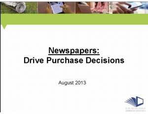 Newspapers-Drive-Purchase-Decisions-PowerPoint