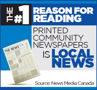 Printed community newspapers is local news