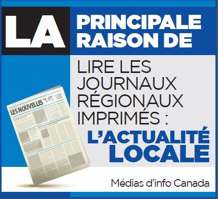 Le principale raison de lire les journaux régionaux imprimés: l'actualité locale</p> <p><br /></p> <p><strong>Ad #2</strong></p> <p>Les lecteurs de journaux régionaux remarquent les publicités automobiles.<br /> Size: 1.933