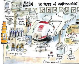 Aislin: 50 years of cartooning