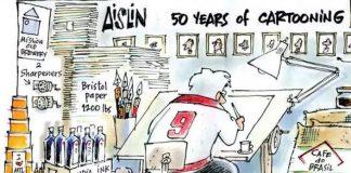 Aislin: 50 years of cartooning