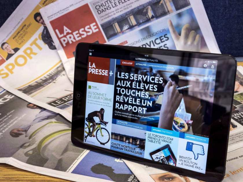 July was a record-setting month for La Presse