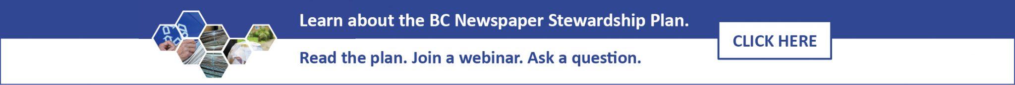 BC Newspaper Stewardship Plan