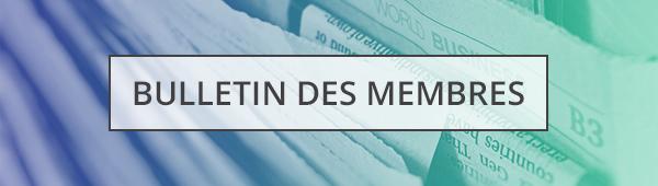 Bulletin des membres   Médias d'Info Canada