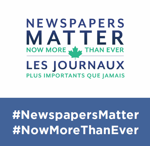Participate in our 'Newspapers Matter' Industry Campaign