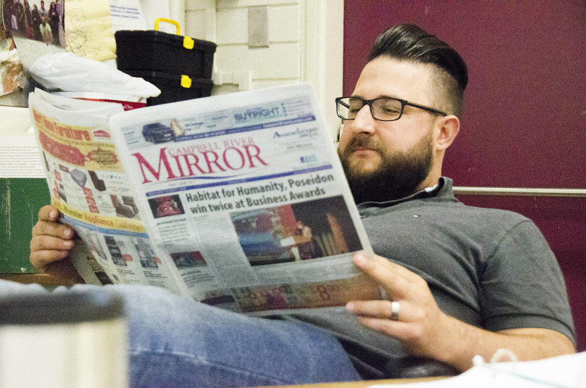 Campbell River Mirror connects with students