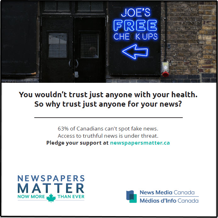 Feature 'Newspapers Matter' advertisements in your publication