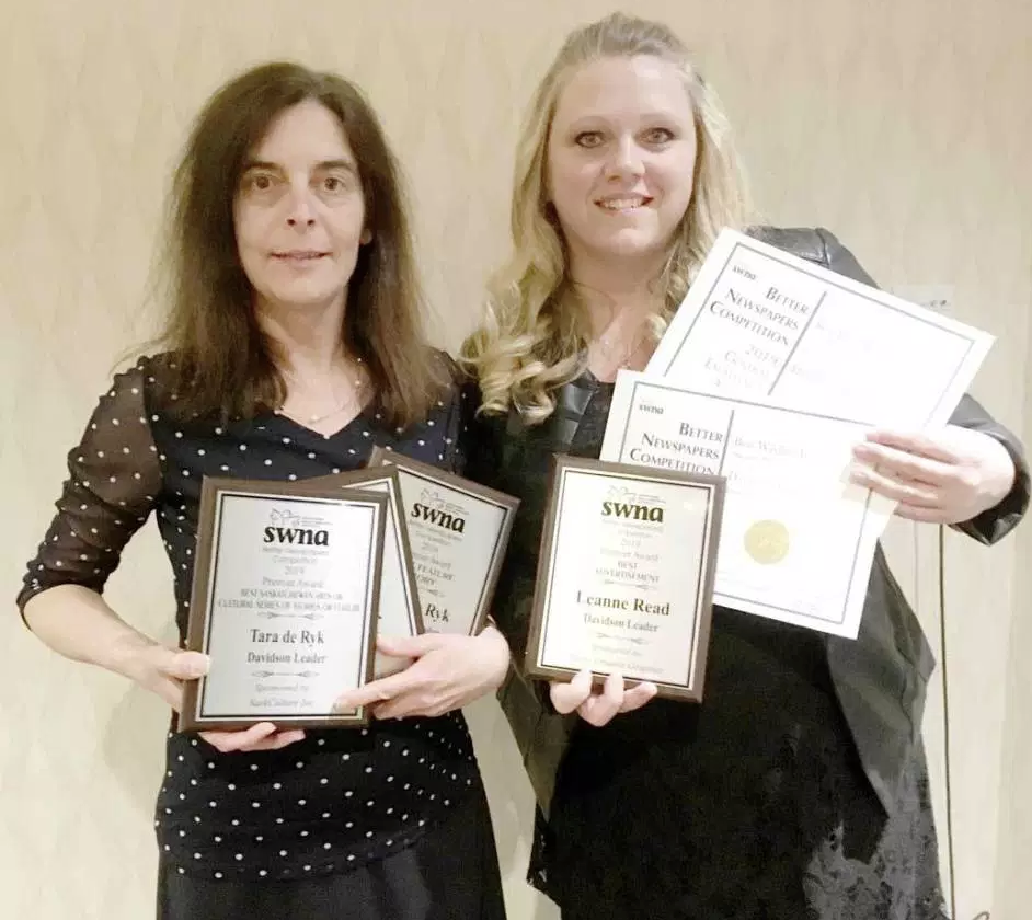 The Davidson Leader wins awards at this year's SWNA Better Newspapers Competition