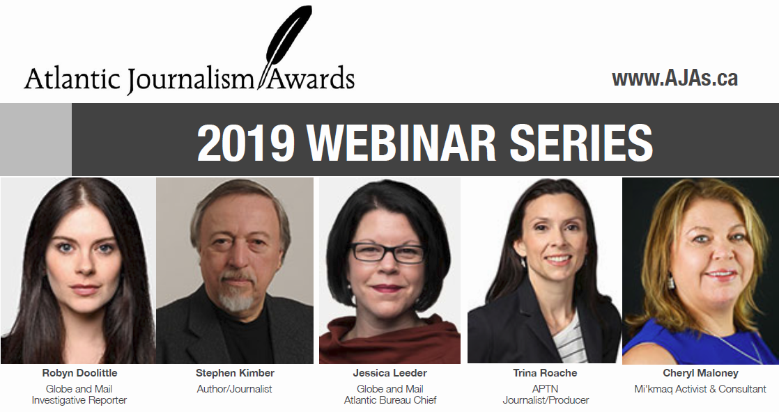 Atlantic Journalism Awards 2019 webinar series