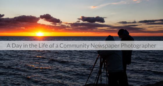 This Week's Featured Course on Newspaper Training: A Day in the Life of a Community Newspaper Photographer