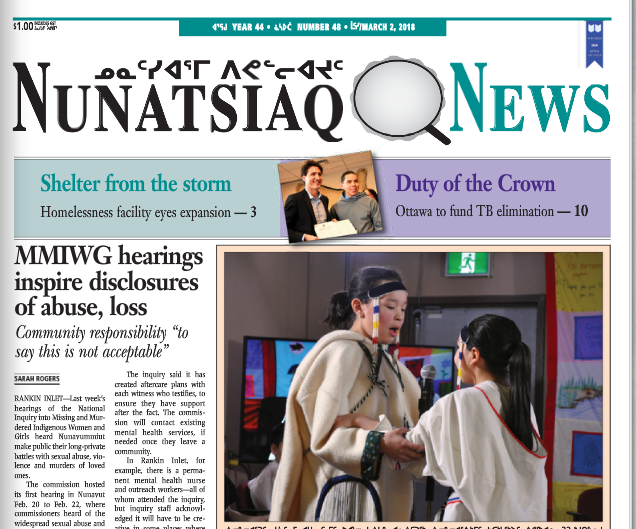Nunatsiaq News wins top prizes at Quebec community newspaper awards