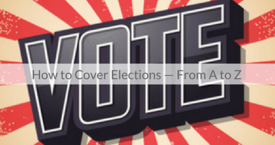 This Week's Featured Course on Newspaper Training: How to cover elections - from 'A' to 'Z'