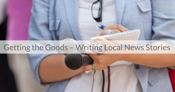 This Week's Featured Course on Newspaper Training: Getting the Goods -- Writing Local News Stories
