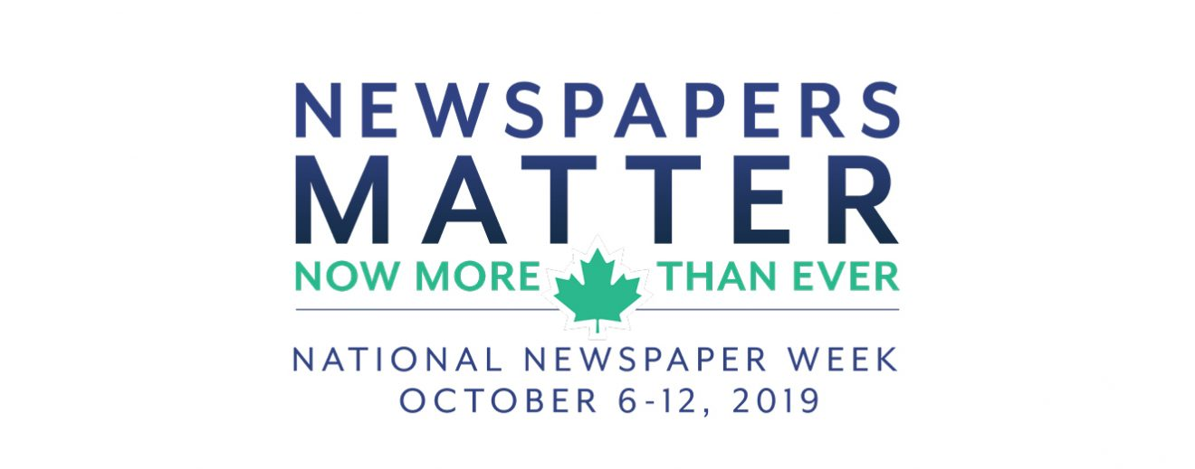 Newspapers across the country are celebrating National Newspaper Week
