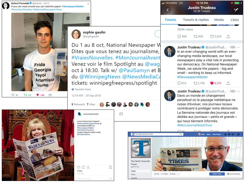 Promote National Newspaper Week with Local Influencers