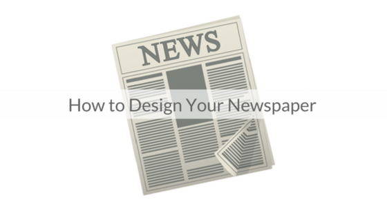 This Week's Featured Course on Newspaper Training: How to Design Your Newspaper