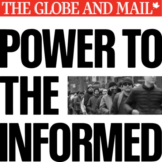 The Globe and Mail launches new brand campaign