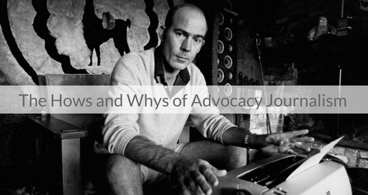 This Week's Featured Course on Newspaper Training: The Hows and Whys of Advocacy Journalism