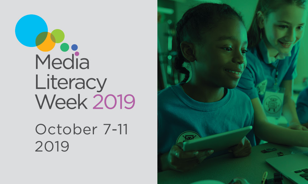 Next week is Media Literacy Week