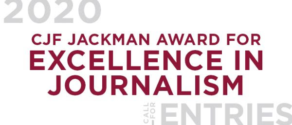 Canadian Journalism Foundation opens competition for excellence in journalism
