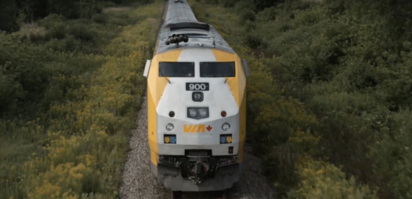 VIA Rail and Touché collaborate on remarkable media campaign