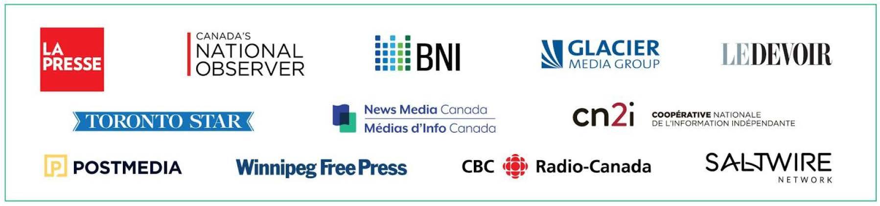 Information - Des médias demandent au Parlement de soutenir des politiques ...