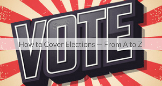 This Week's Featured Course on Newspaper Training: How to Cover Elections - From A to Z