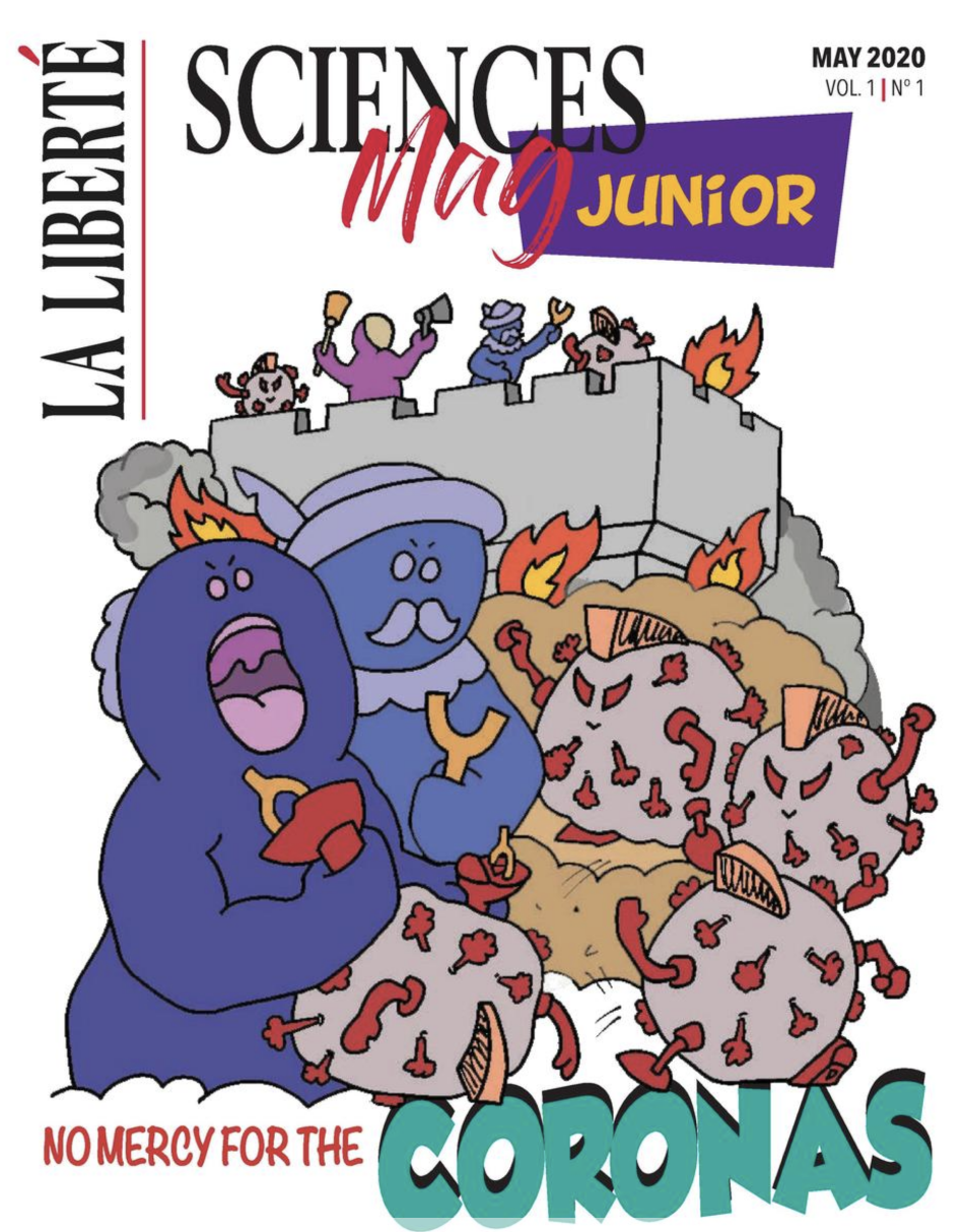 La Liberté launches 'No Mercy for the Coronas' magazine for youth