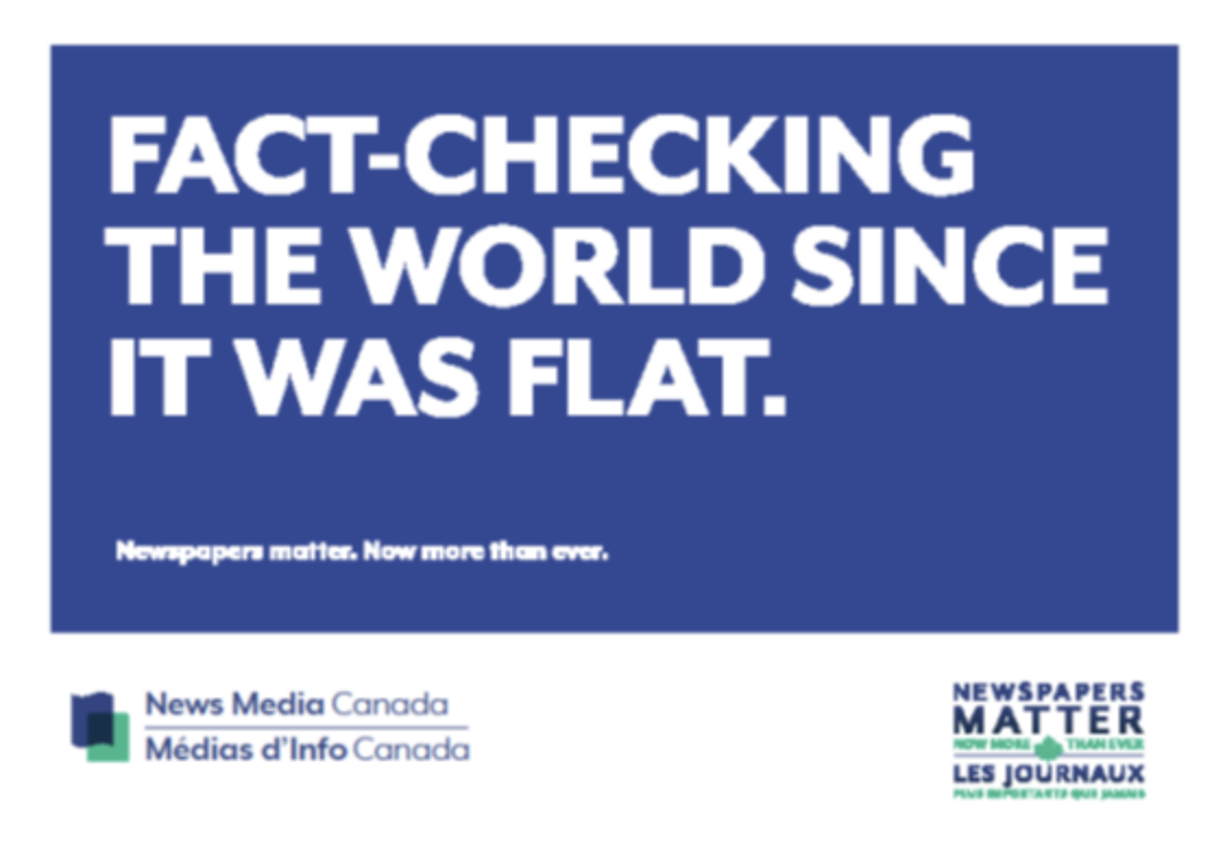 New house ads available for download: 'Fact-checking the world since it was flat'