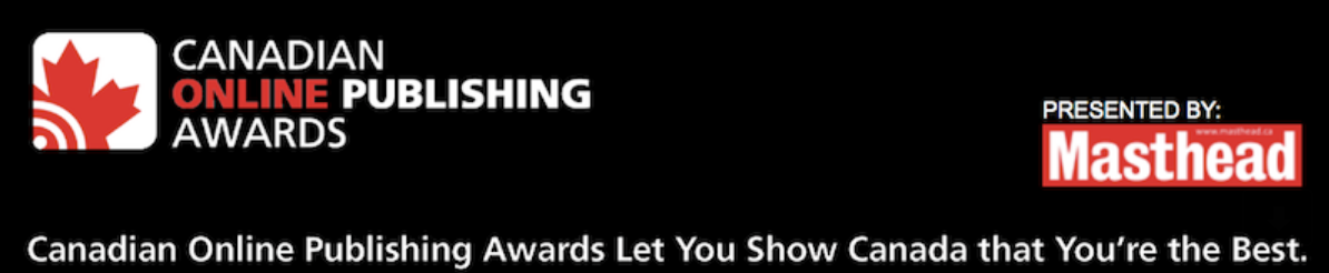 Canadian Online Publishing Awards launches 2020 call for entries