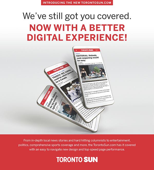 The Toronto Sun's website gets a revamp