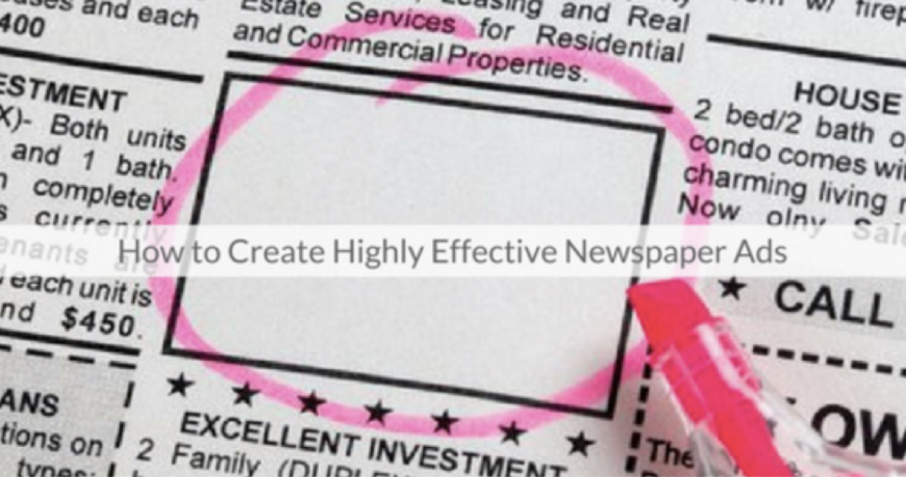 This Week's Featured Course on Newspaper Training: How to Create Highly Effective Newspaper Ads