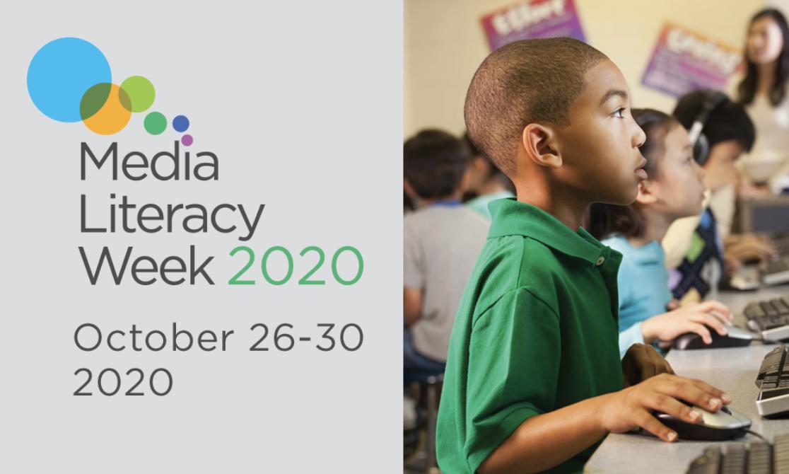 Celebrate Media Literacy Week 2020