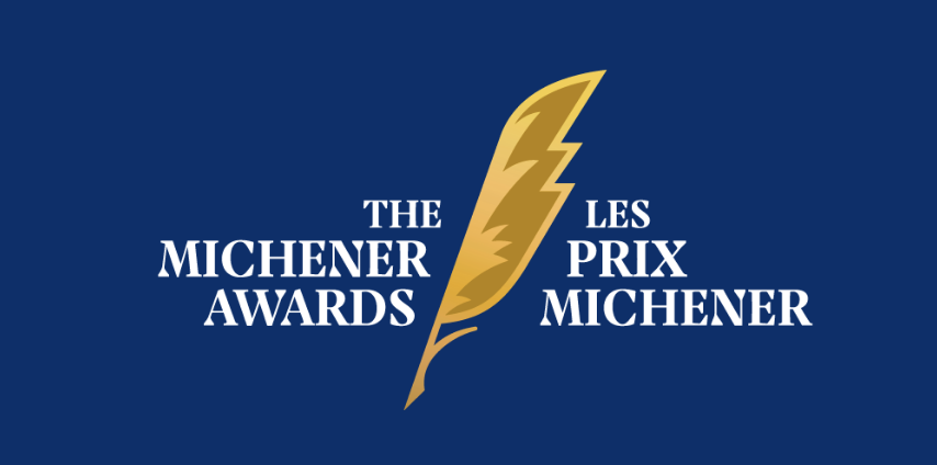 The Globe and Mail wins the 2019 Michener Award