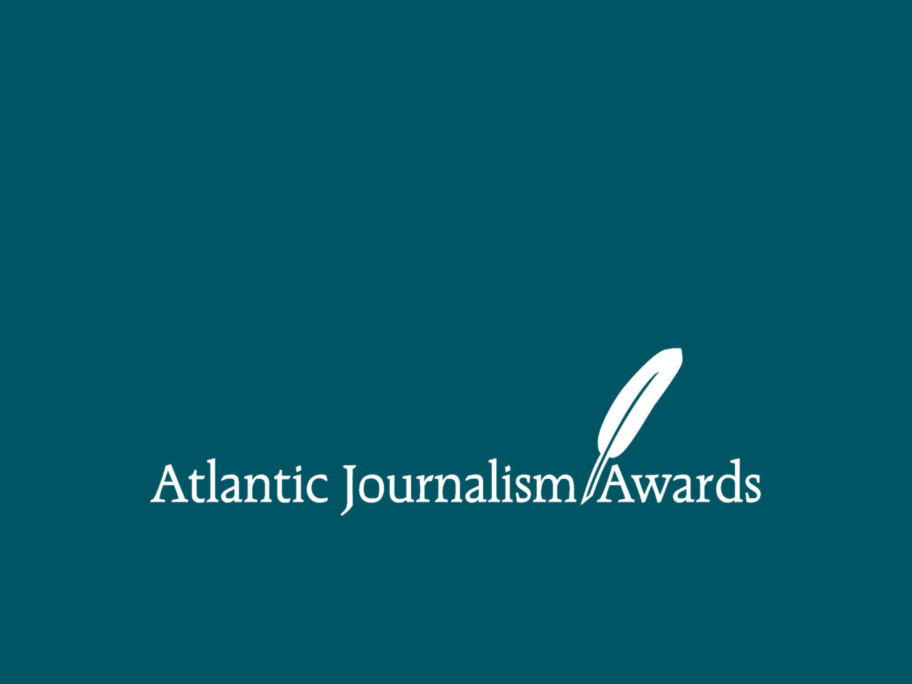 Atlantic Journalism Awards announce 2020 Gold and Silver winners