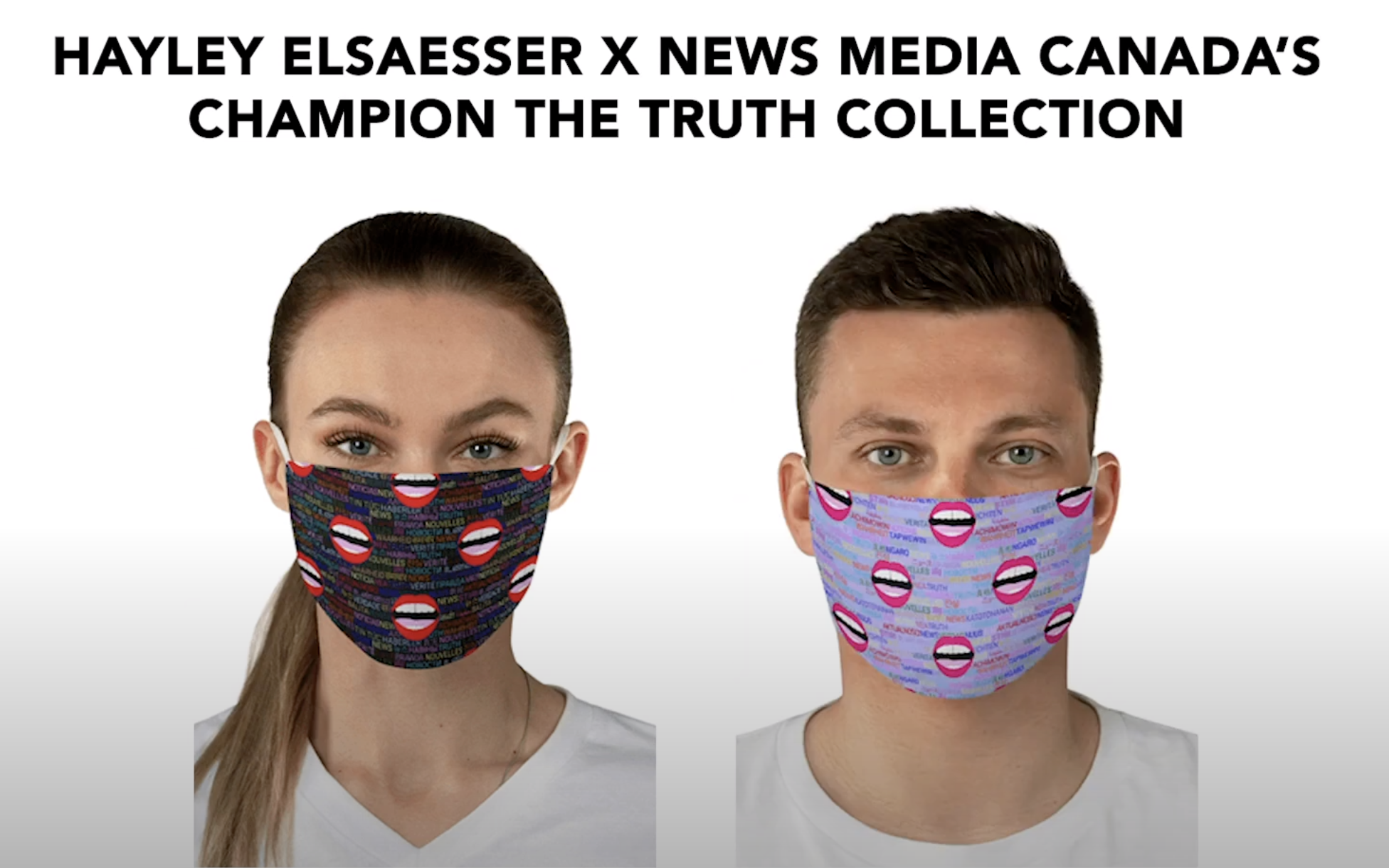 Champion The Truth Collection: Hayley Elsaesser x News Media Canada!