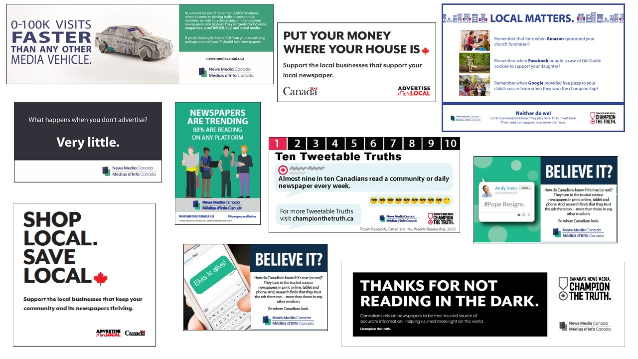 Promote the power of newspapers with our industry campaigns