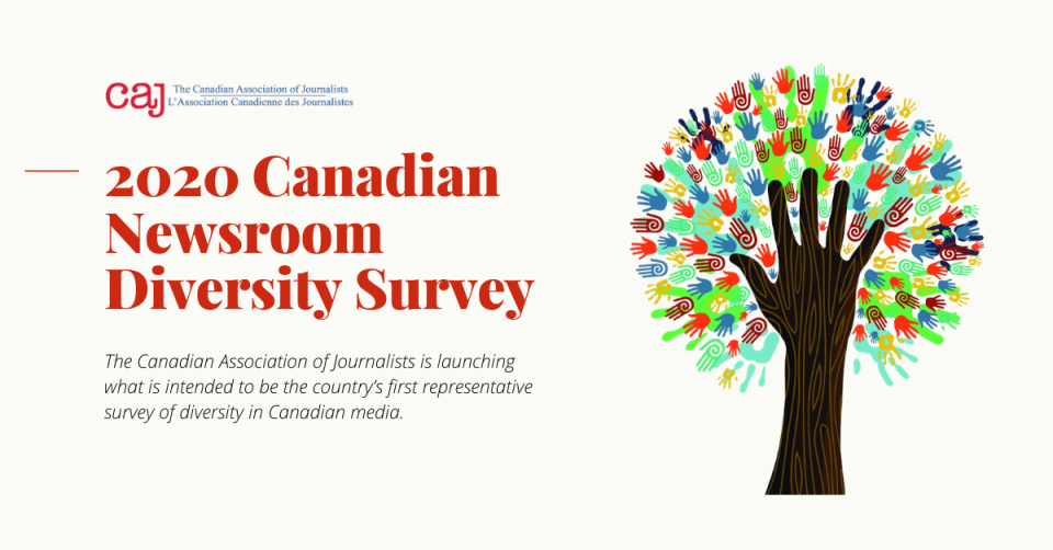 There are only two weeks left to complete the CAJ's 2020 Newsroom Diversity Survey