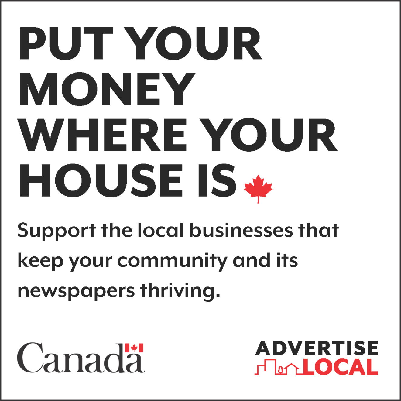 Community newspaper advertising: a tried and true way to generate and grow business