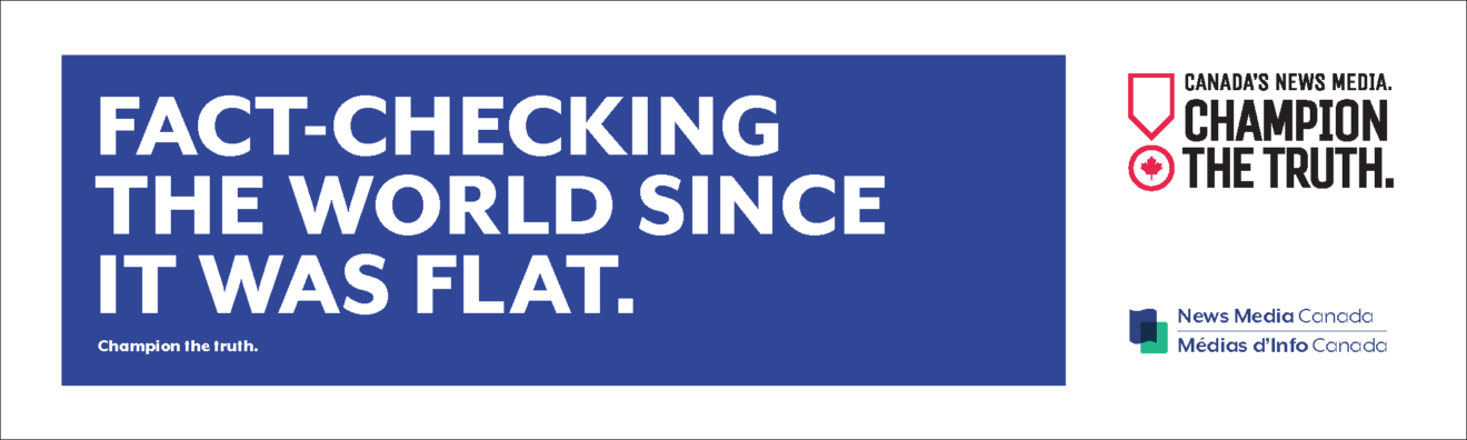 Champion The Truth industry ads: Fact checking the world since it was flat