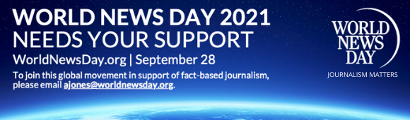 World News Day sets ambitious global target to amplify fact-based climate journalism