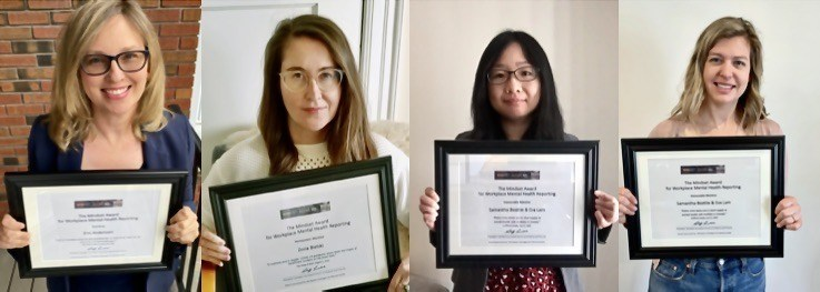 Canadian Journalism Forum and the Canadian Mental Health Association collaborate on new awards for reporting about mental health