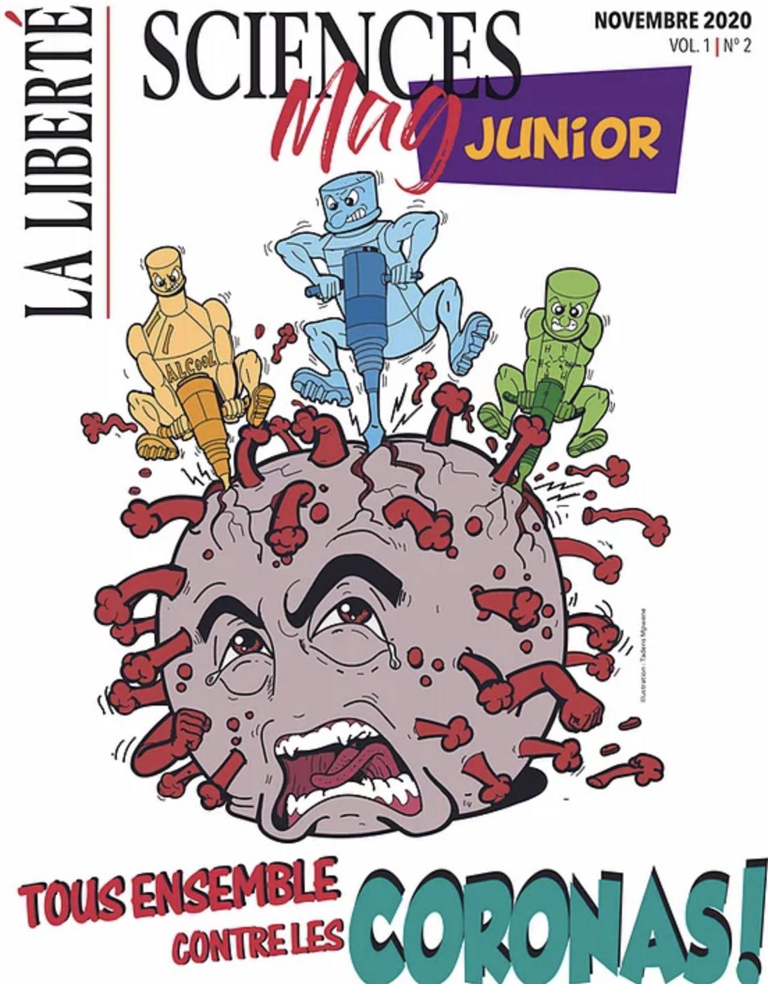 La Liberté readies third edition of Sciences Mag Junior for publication