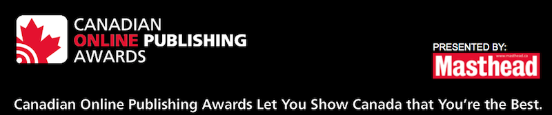 Canadian Online Publishing Awards opens call for entries