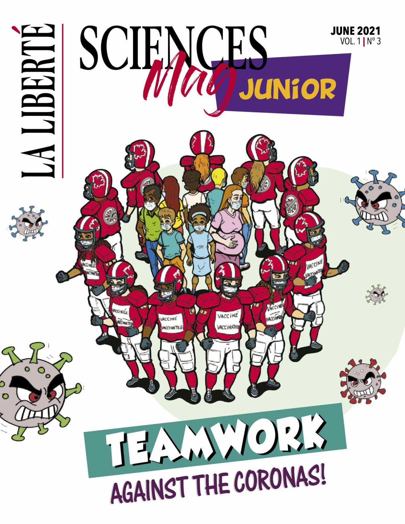 La Liberté publishes third edition of Sciences Mag Junior