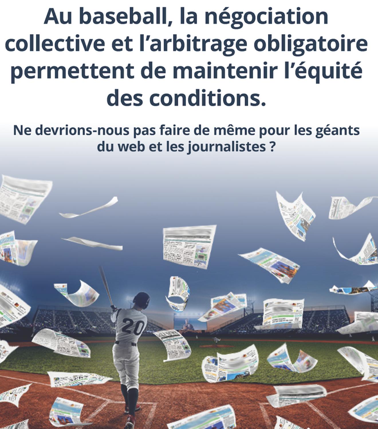 Une nouvelle campagne publicitaire prépare le terrain pour la publication du rapport de consultation du gouvernement sur les plateformes numériques