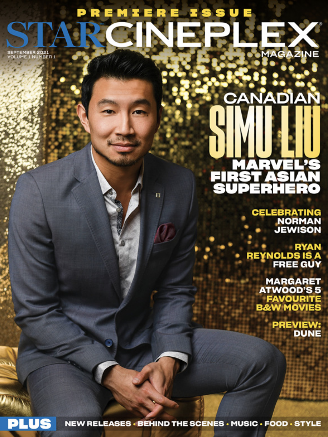 Introducing the debut issue of Star Cineplex magazine